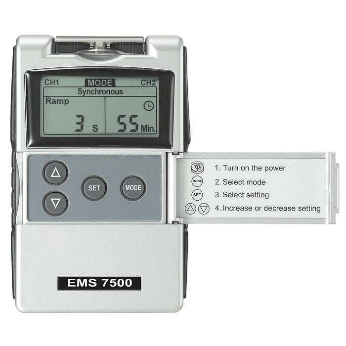 EMS 7500 Digital EMS Unit instructions
