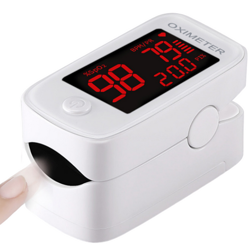 Fingertip Pulse Oximeter for SPO2, Pulse Rate & Perfusion Index %
