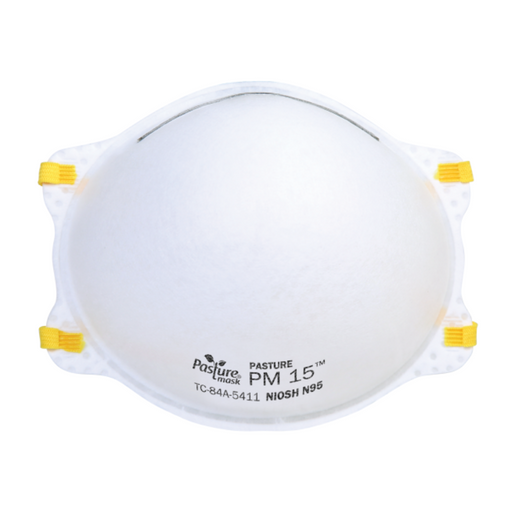Pasture PM15 N95 NIOSH Mask 20 Masks/Box