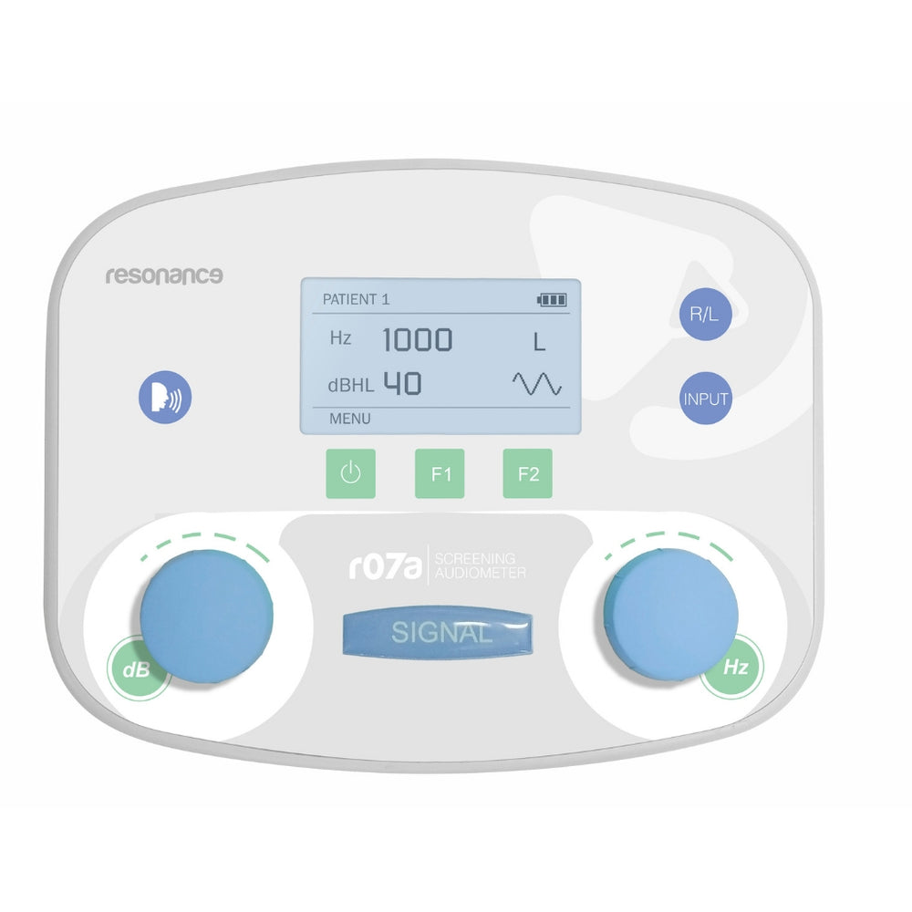 Resonance R07A Pure Tone Screening Audiometer Portable Screening Audiometer