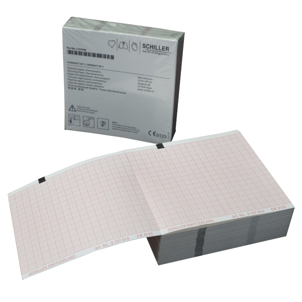 Schiller Recording Paper Pack for AT-1