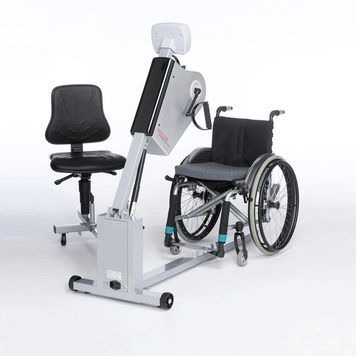 Schiller Hand ergometer for mobility-impaired patients