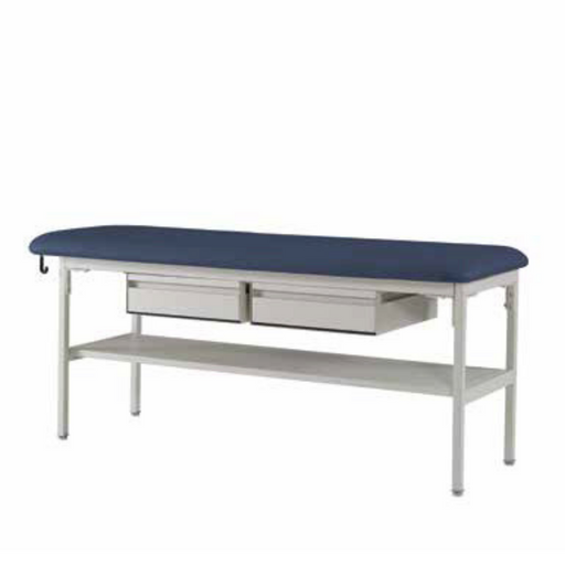 Medical Treatment Table by Hausted with drawers