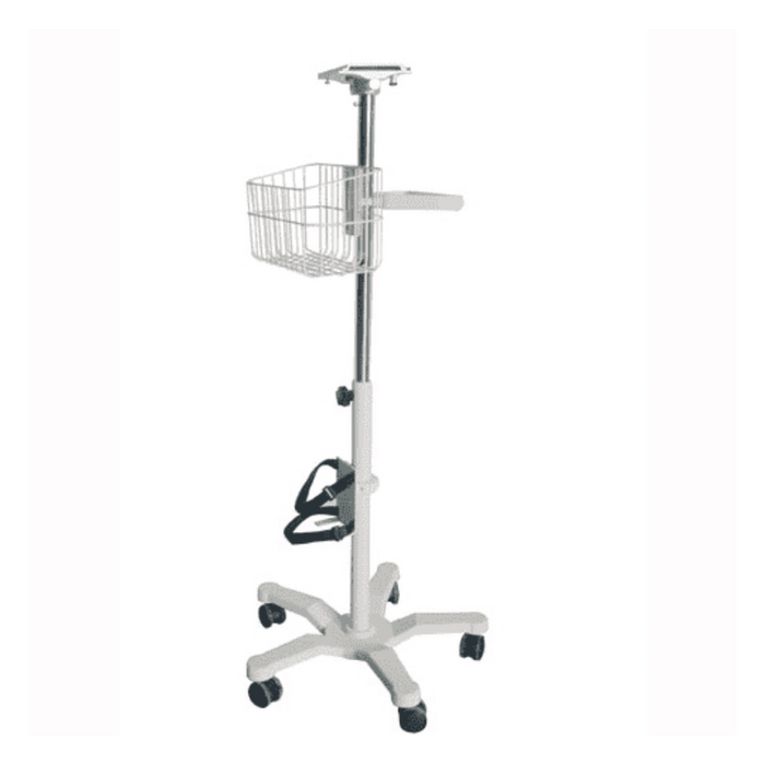 Edan MT-207 Rolling Stand (with Mounting plate & Basket)