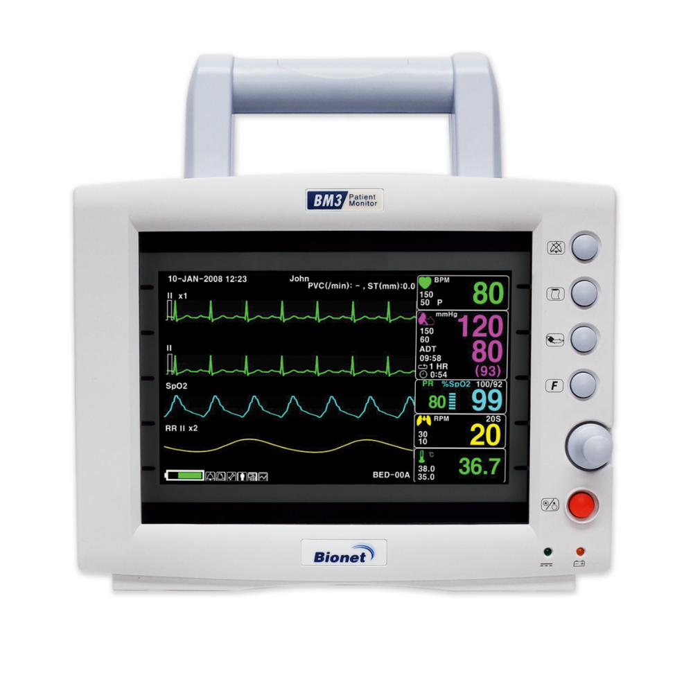 Multi-Parameter Patient Monitor brand Bionet model BM3