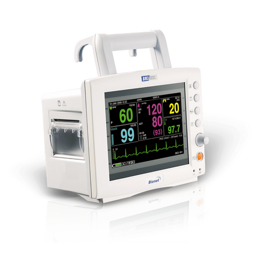 Bionet BM3 Multi-Parameter Patient Monitor with screen on