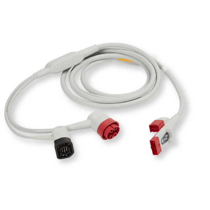 OneStep™ Pacing Cable, 100-240V 50Hz, (Supports Real CPR Help And OneStep™ Pacing)