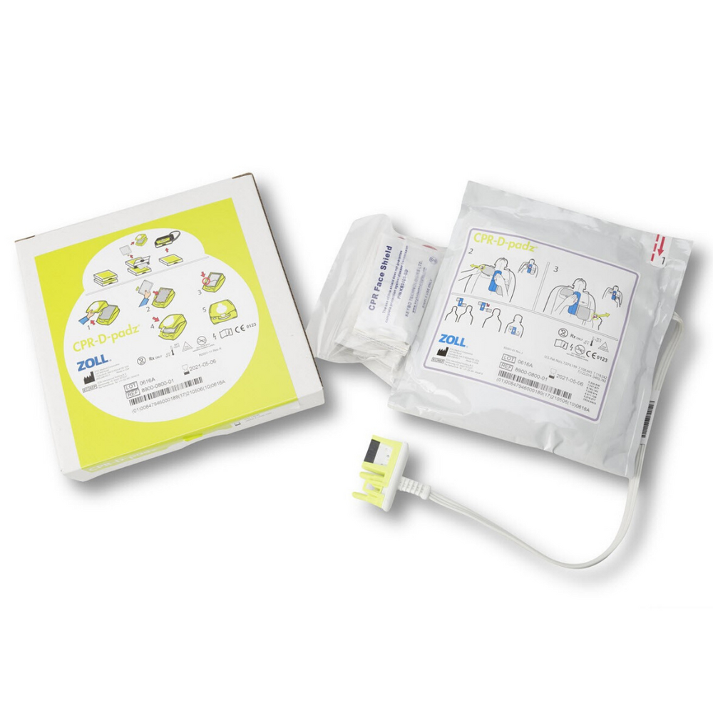 Zoll One-Piece Electrode Pad for AED plus