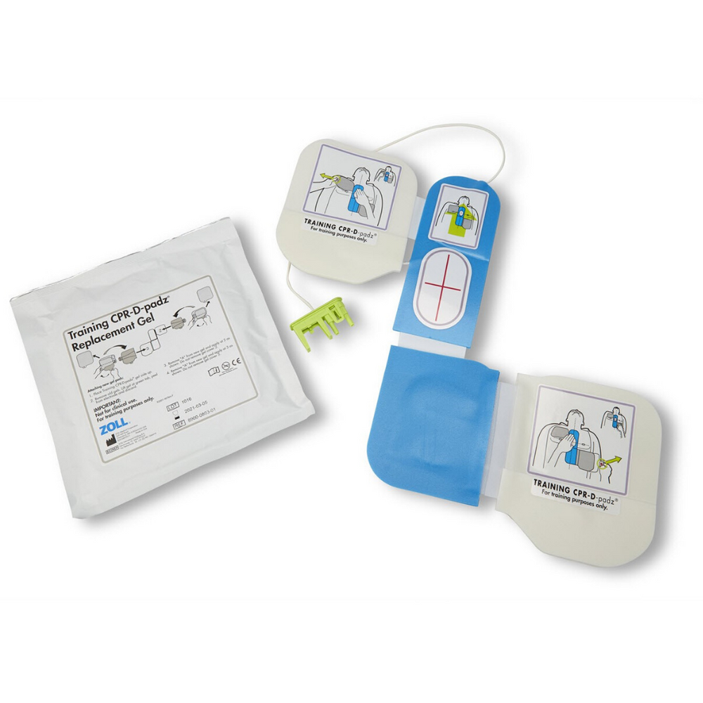 Training CPR-D Padz® Electrode, With 1 Pair Rep. Gel for AED