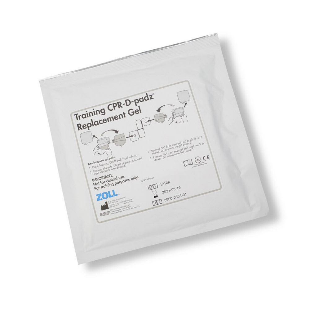 Training CPR-D Replacement Gel 5/Case for AED