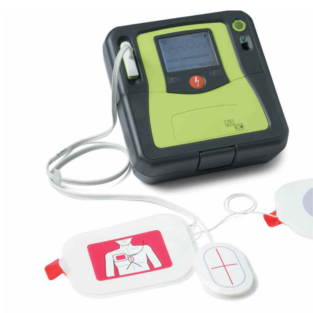 ZOLL AED Pro Automated External Defibrillator Semi-Automatic Plus Package