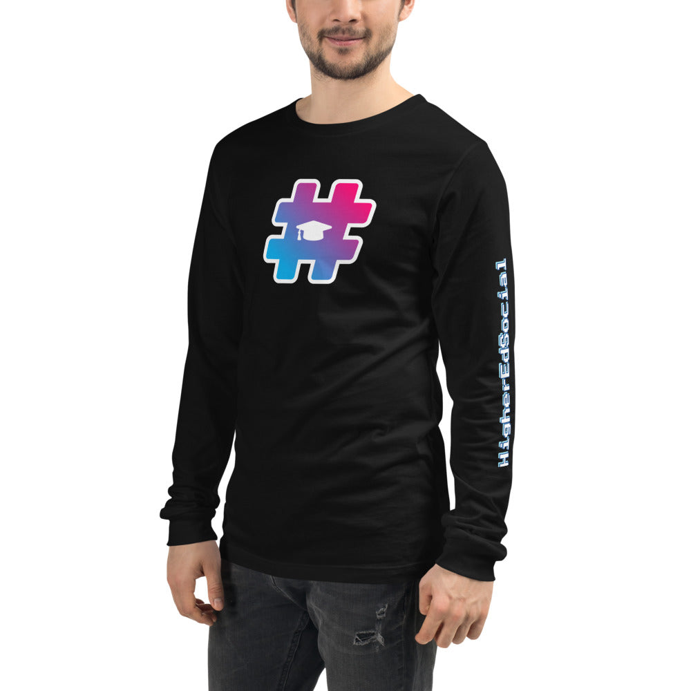 Black w/ Logo Unisex Long Sleeve Tee