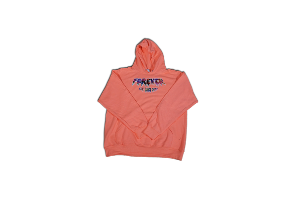 "CLASSIC FOREVER HOODIE ""CORAL REEF"""