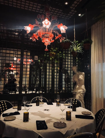 Dining Room at restaurant in New Orleans