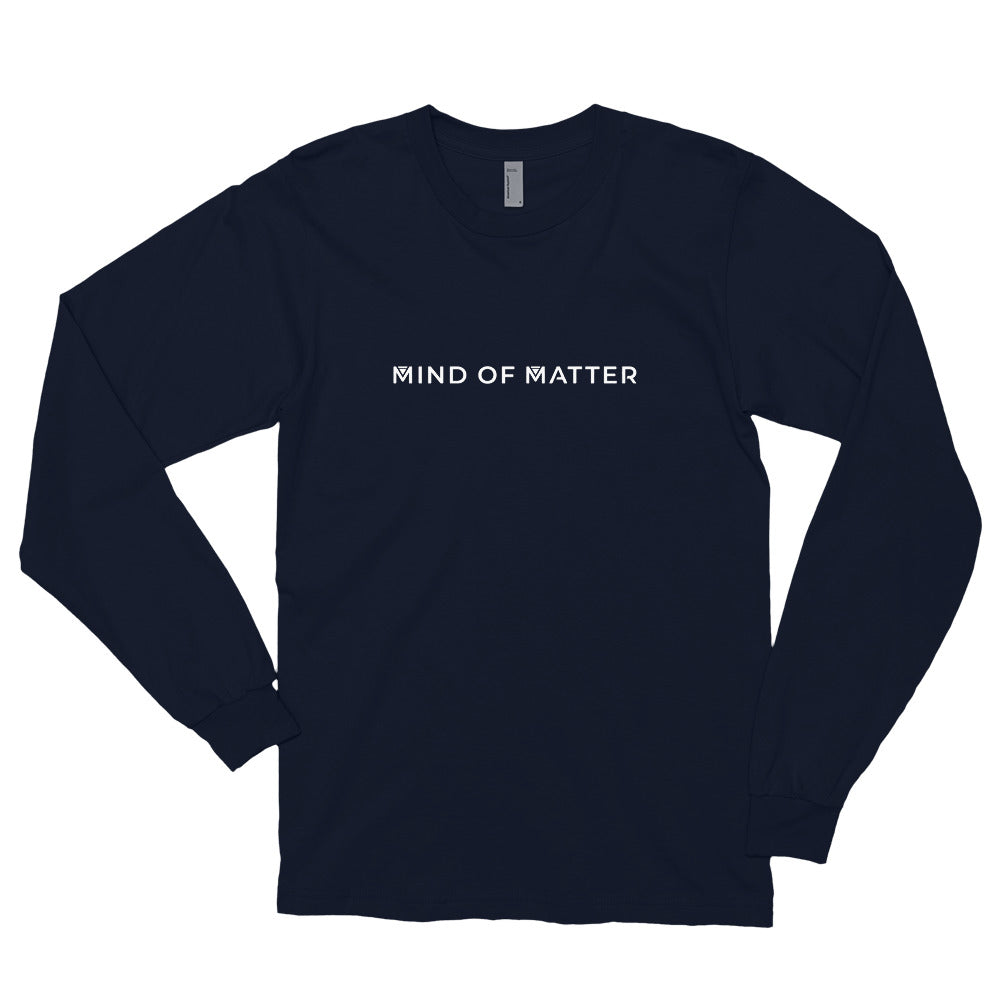 MIND OF MATTER LONG-SLEEVED SHIRT NAVY