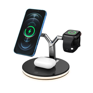 OmniTroi - 3 in 1 Charging Dock with MagTech Innovation