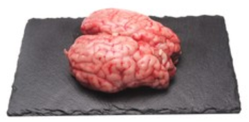 Fresh Beef Brain (1 Piece) - 400 grams