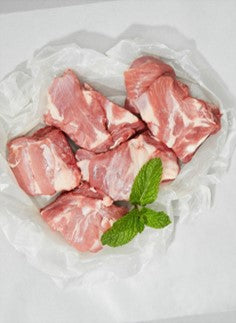 Fresh Lamb Cubes With Bone - 500 grams