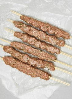 Fresh Lamb Kabab Skewers Australia (3 Pieces) - 400 grams