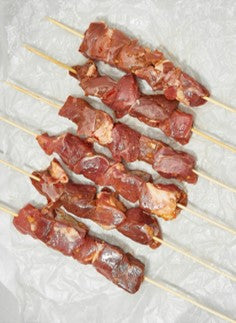 Fresh Marinated Lamb Tikka Skewers Australia (3 Pieces) - 400 grams