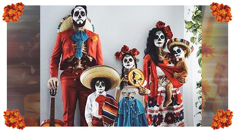 Halloween and Día de los Muertos are Completely Different