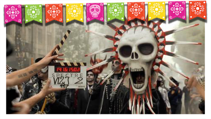 Día de Muertos Featured In Hollywood Films
