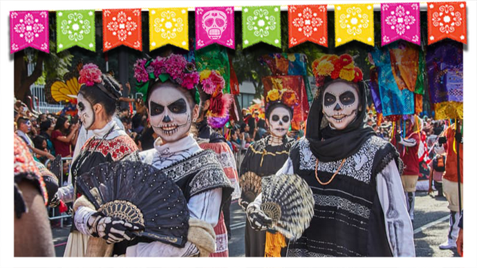 What the Día de los Muertos Colors Represent