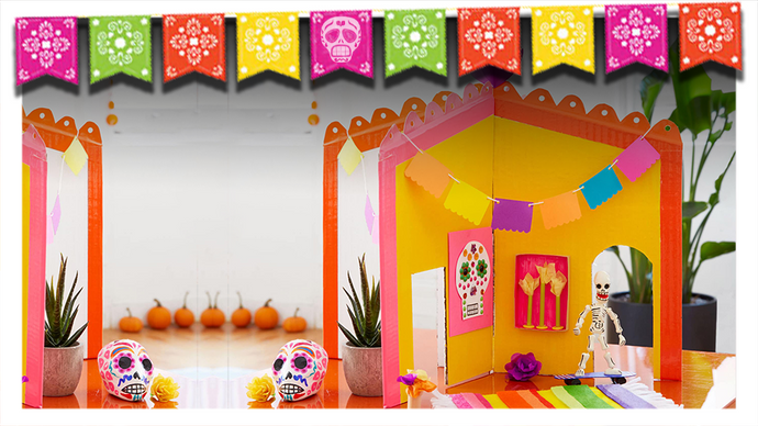 Easy and Beautiful DIY Día de los Muertos Crafts for Kids