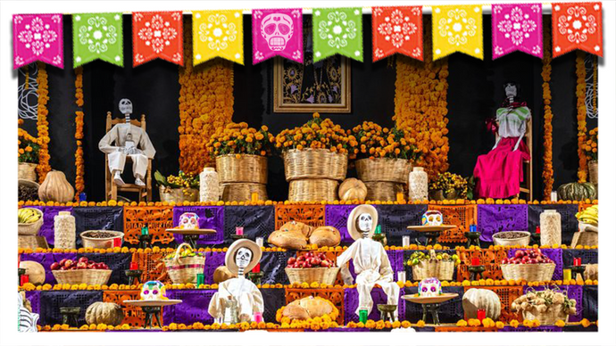 The Flowers of Día de Muertos