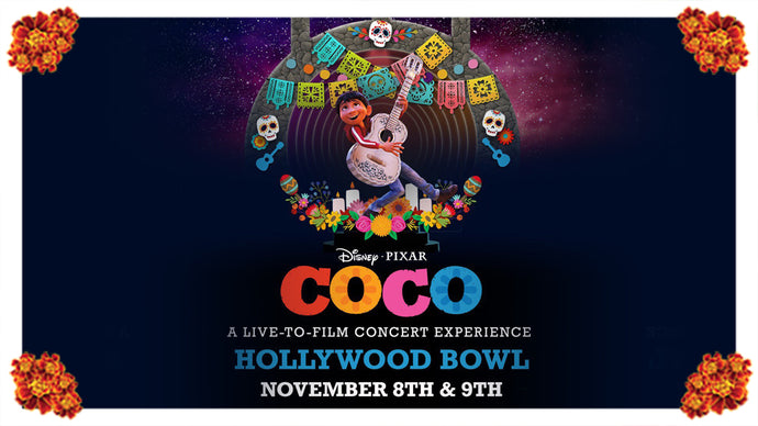 Disney Pixar Coco – A Live-to-Film Concert Experience at the Hollywood Bowl 2019