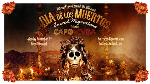 Hollywood Forever's 20th annual Día de los Muertos celebration!