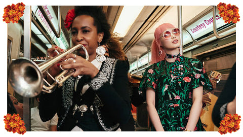 Take 'A Mariachi Subway Ride' With Kate Spade!
