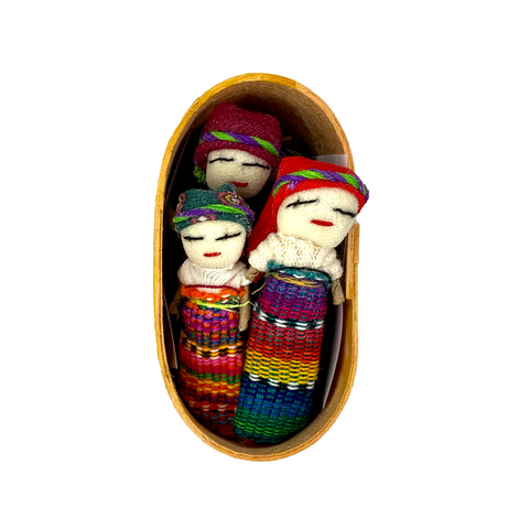 latin mexican culture products worry dolls