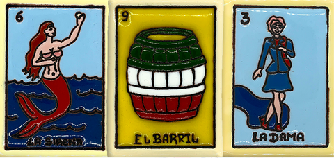 mexican culture products loteria sirena