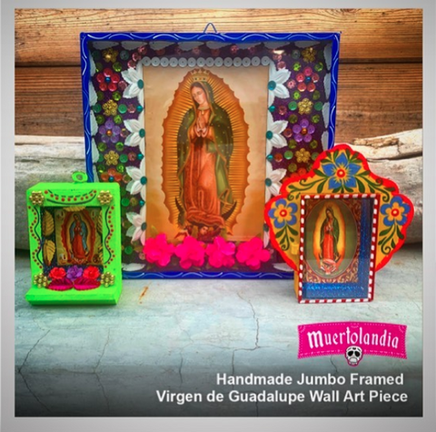 mexican culture products virgen de guadalupe