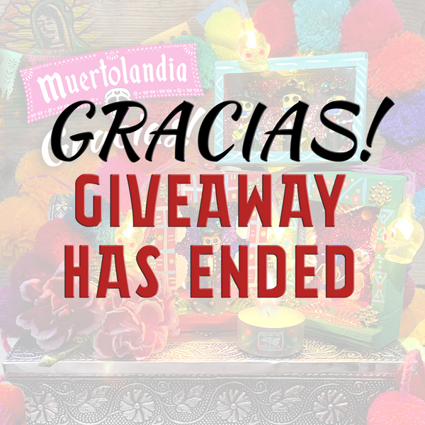 Giveaway has ended.