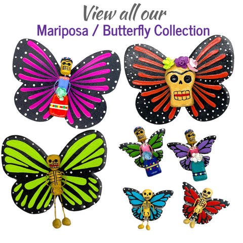 View Mariposa Butterfly Collection
