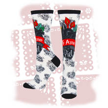 "Load image into Gallery viewer, Women's Frida Kahlo ""Te Amo"" 3D Print Socks"