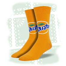 "Load image into Gallery viewer, Men's ""Fanta"" Socks"
