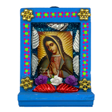 Load image into Gallery viewer, Handmade Shadow Box Nicho - Virgen de Guadalupe