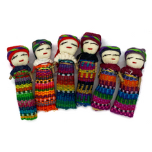 Load image into Gallery viewer, Handmade Worry Doll Sisters / Muñecas Quitapena
