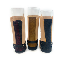 Load image into Gallery viewer, Handmade Mexican Leather Mini-Boot Shot Glass Gift Set (3-Pack)