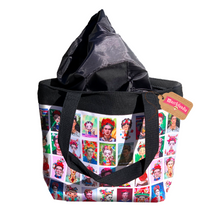 Load image into Gallery viewer, Frida Lotería Lined Tote