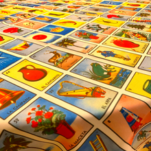 Load image into Gallery viewer, Mexican Lotería Tablecloth