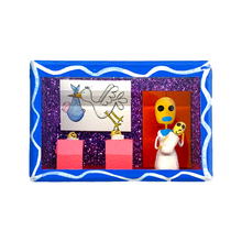 Load image into Gallery viewer, Handmade Shadow Box Nicho - Recien Nacidos (Baby)