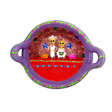Load image into Gallery viewer, Handmade Mexican Cazuela Art - Jarochos