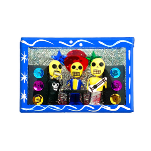 Handmade Shadow Box Nicho -  Rockeros
