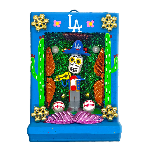 Handmade Shadow Box Nicho - Mariachi El Doyer