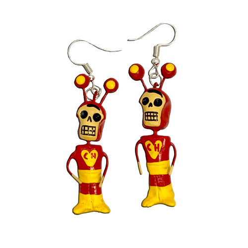 Handmade Earrings - Chapulín