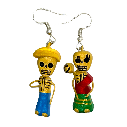 Handmade Earrings - Los Inditos
